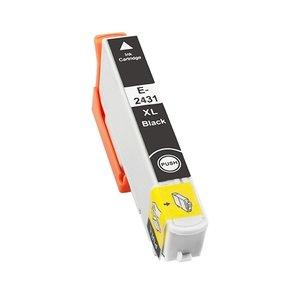 Huismerk Epson cartridges T24 XL Bk (T2431)