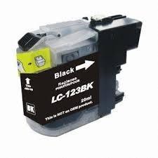 Huismerk Brother cartridges LC-123 Bk