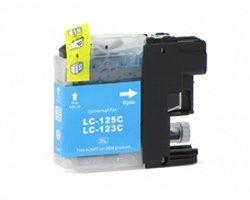 Huismerk Brother cartridges LC-123 Cyan