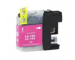Huismerk Brother cartridges LC-123 Magenta