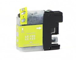 Huismerk Brother cartridges LC-123 Yellow