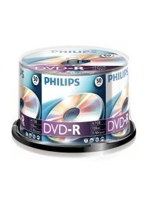 Philips DVD-R 4.7 GB 50 stuks