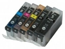 Huismerk Canon pixma MP970 Compatible CLI-8 / PGI-5 set MET CHIP!
