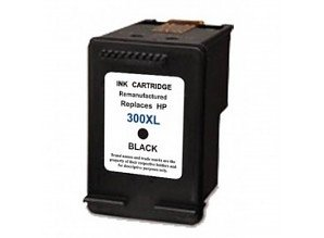 Hp 300XL Compatible Zwart
