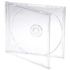 Jewel Case 1 cd Transparant 10 stuks