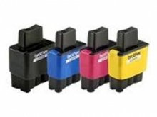 Huismerk Brother MFC-820 compatible inktcartridges LC900 Set 4 Stuks