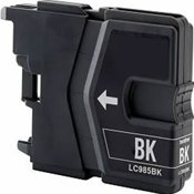 Huismerk Brother DCP-J125 compatible inktcartridges LC985 BK