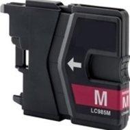 Huismerk Brother DCP-J315 compatible inktcartridges LC985 Magenta