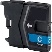 Huismerk Brother MFC-J415 compatible inktcartridges LC985 Cyan