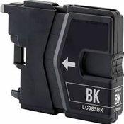 Huismerk Brother MFC-J265 compatible inktcartridges LC985 BK