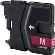 Huismerk Brother MFC-J265 compatible inktcartridges LC985 Magenta