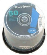 Thats Write Dvd-r 16x 50 stuks