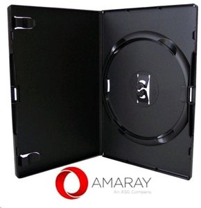 Amaray Dvd Box 1  14 mm 5 Stuks