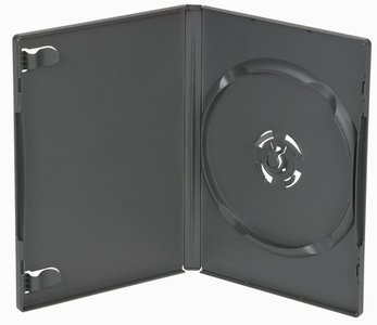 Amaray Dvd Box 3  14 mm 5 Stuks