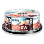 Philips DVD+RW 4.7 GB 25 stuks