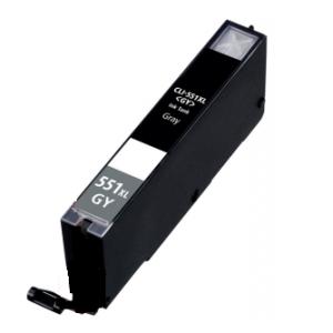 Huismerk Canon pixma MG7100 Compatible inkt cartridges CLI-551 Grijs