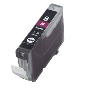 Huismerk Canon pixma IX4000 Compatible inkt cartridges CLI-8 Magenta met chip