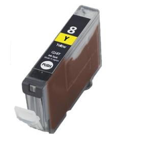Huismerk Canon pixma IX5000 Compatible inkt cartridges CLI-8 Yellow met chip