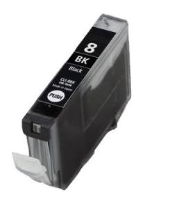 Huismerk Canon pixma IP5300 Compatible inkt cartridges CLI-8 BK met chip