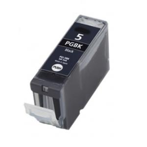 Huismerk Canon pixma IP5200R Compatible inkt cartridges PGI-5 BK  met chip