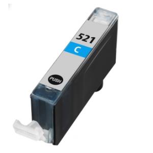 Huismerk Canon pixma MP640 Compatible inkt cartridges CLI-521 Cyan met chip