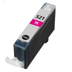 Huismerk Canon pixma IP4600 Compatible inkt cartridges CLI-521 Magenta met chip