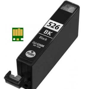 Huismerk Canon pixma IP4850 Compatible inkt cartridges CLI-526 BK met chip