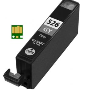 Huismerk Canon pixma MG5300 Compatible inkt cartridges CLI-526 Grijs met chip
