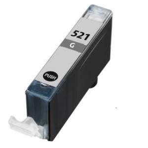 Canon pixma Compatible inkt cartridges CLI-521 Grijs met chip