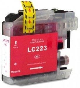 Huismerk Brother DCP-J562DW compatible inktcartridges LC-223 Magenta
