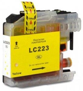 Huismerk Brother MFC-J4420 compatible inktcartridges LC-223 Yellow