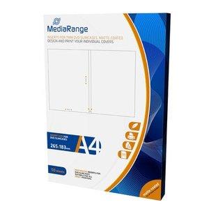 MediaRange DVD 7mm cover inserts 50 stuks