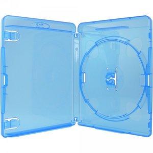 Amaray Blu-Ray doosjes transparant blauw 5 stuks 15mm