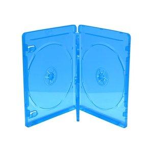 Blu-Ray  doosjes 4 disc transparant blauw 3 stuks 14mm