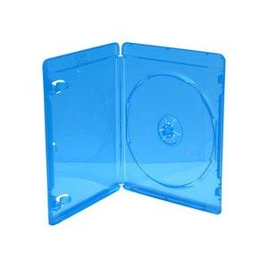 Blu-Ray  doosjes transparant blauw 5 stuks 7mm