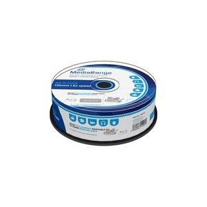 MediaRange BD-R full-printable 25 GB 6x speed in cakebox 25 stuks