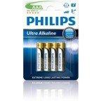 Philips Ultra Alkaline AAA 4-pak