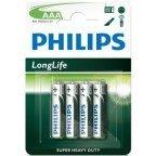 Philips Longlife AAA 4-pak
