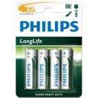 Philips Longlife AA 4-pak