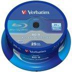 Verbatim BD-R 25 GB 6x speed in cakebox 25 stuks