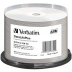 Verbatim DVD-R 4.7 GB DataLifePlus Wide Inkjet Professional No ID 50 stuks
