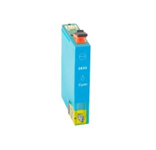 Huismerk Epson cartridges T26XL Cyan (T2632)
