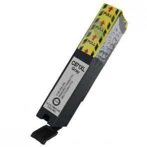 Huismerk Canon pixma TS8052 inkt cartridges CLI-571 Grijs XL