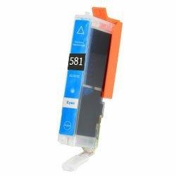 Huismerk Canon pixma TR7550 inktcartridges CLI-581 XL Cyan