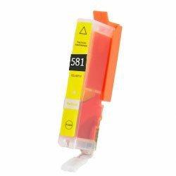 Huismerk Canon pixma TS8150 inktcartridges CLI-581 XL Yellow