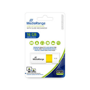 MediaRange Slide USB Stick 16 GB
