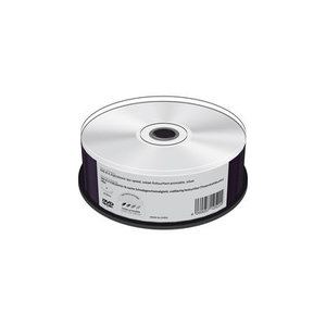 MediaRange DVD-R 4.7 GB Inkjet 3D Printable 25 stuks
