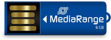 MediaRange Paperclip USB Stick 8 GB