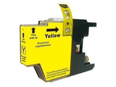 Huismerk Brother MFC-J625DW inktcartridges LC1240 Yellow