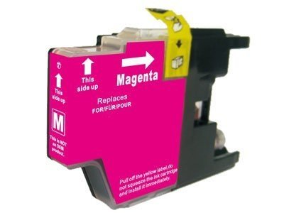 Huismerk Brother MFC-J625DW inktcartridges LC1240 Magenta